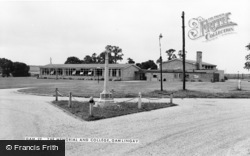 Gamlingay, The Memorial And College c.1965
