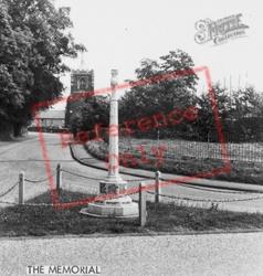 The Memorial c.1965, Gamlingay