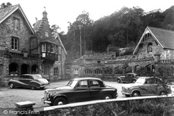 Ganllwyd, Dolmelynllyn Hall Hotel c.1955