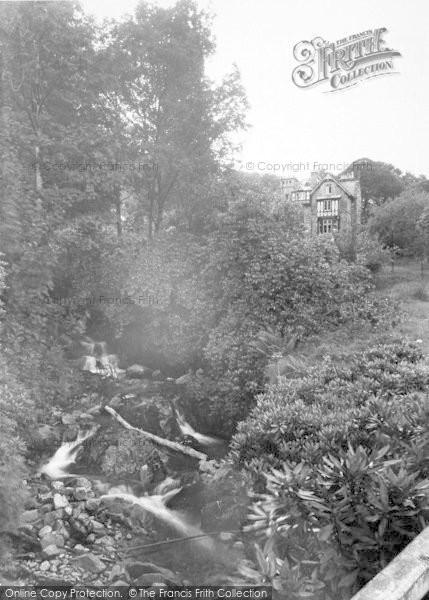 Photo of Ganllwyd, Dolmelynllyn Hall Hotel c.1955