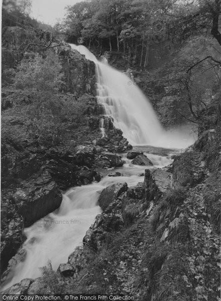 Photo of Ganllwyd, Pistyll Y Cain Falls c.1935
