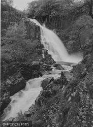 Ganllwyd, Pistyll Y Cain Falls c.1935