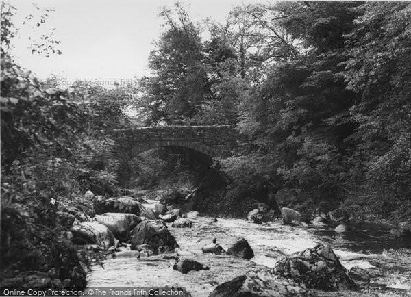 Photo of Ganllwyd, Pont Ar Eden c.1955