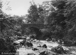 Ganllwyd, Pont Ar Eden c.1955