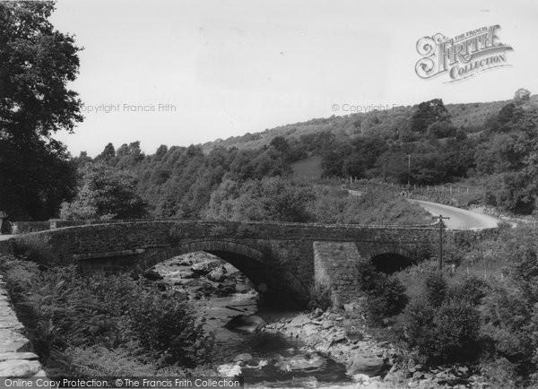 Photo of Ganllwyd, Pont Dolgyfeilan c.1955