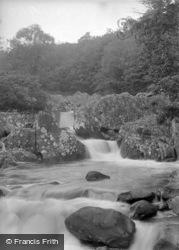 Ganllwyd, Rhaeadr Ddu Falls c.1933