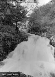 Ganllwyd, Rhaeadr Ddu Falls c.1955