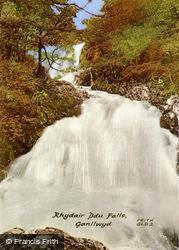 Rhaeadr Ddu Falls c.1955, Ganllwyd
