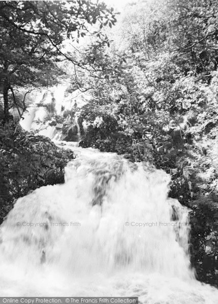 Photo of Ganllwyd, Rhaeadr Ddu Falls c.1955