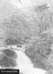 Ganllwyd, Rhaeadr Ddu Falls