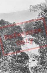 River Mawddach c.1933, Ganllwyd