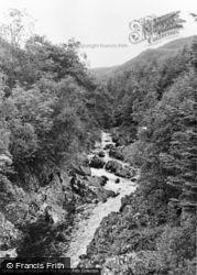 Ganllwyd, The River At Pont Cae'n Y Coed c.1955