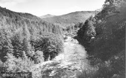 Ganllwyd, The River c.1955
