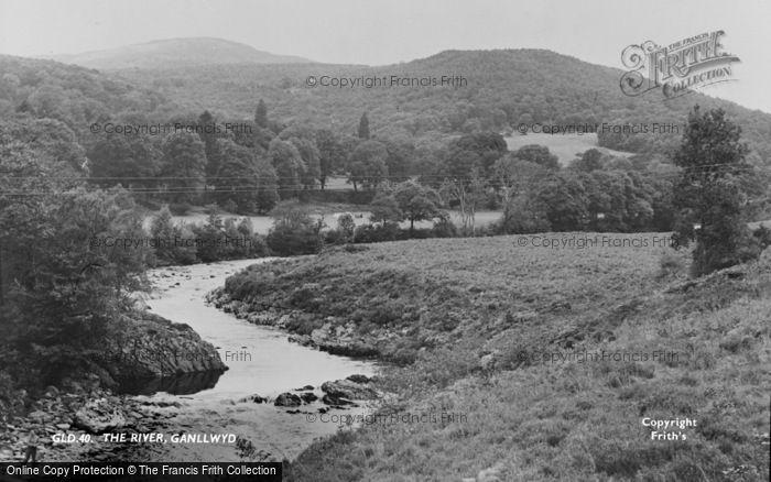 Photo of Ganllwyd, The River c.1960