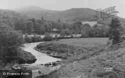 Ganllwyd, The River c.1960