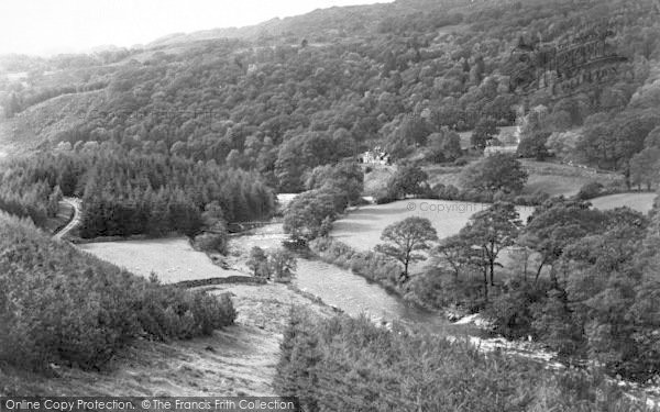 Photo of Ganllwyd, The Valley And Tyn Y Groes Hotel c.1955