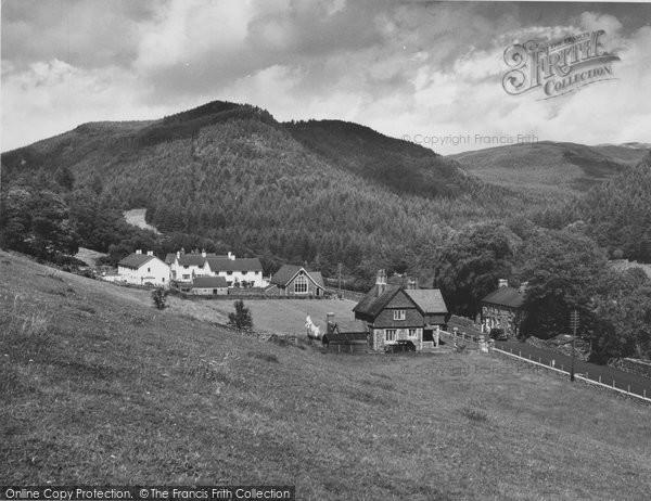 Photo of Ganllwyd, The Village c.1955