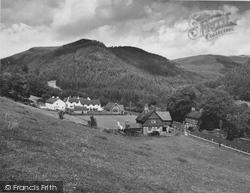 Ganllwyd, The Village c.1955