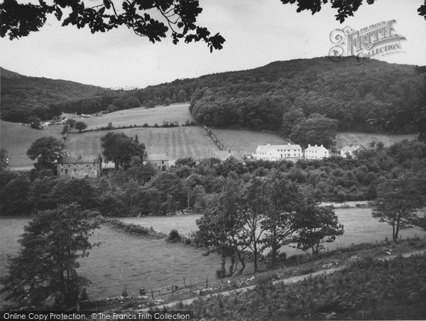 Photo of Ganllwyd, The Village c.1960