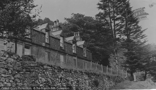 Photo of Ganllwyd, The Youth Hostel c.1955