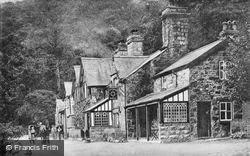 Tyn-Y-Groes Hotel c.1910, Ganllwyd