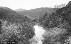 Ganllwyd, Valley And Mawddach c.1955
