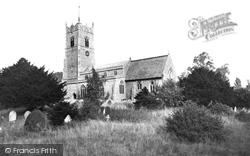 Church Of St John The Baptist c.1955, Garboldisham