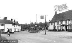 Church Road c.1955, Garboldisham