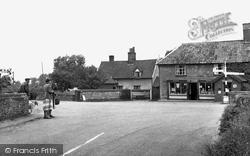 Diss Road c.1955, Garboldisham