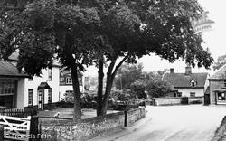 Garboldisham Corner c.1955, Garboldisham