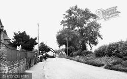 Garboldisham Road c.1955, Garboldisham