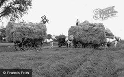 Garboldisham, Harvest Time c1955