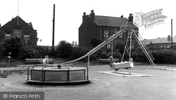 Garforth, Children's Playground c.1955