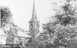 Garforth, The Parish Church c.1965