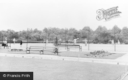 Garforth, The Recreation Ground c.1955