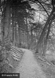 Gargrave, Eshton Hall Woods c.1910