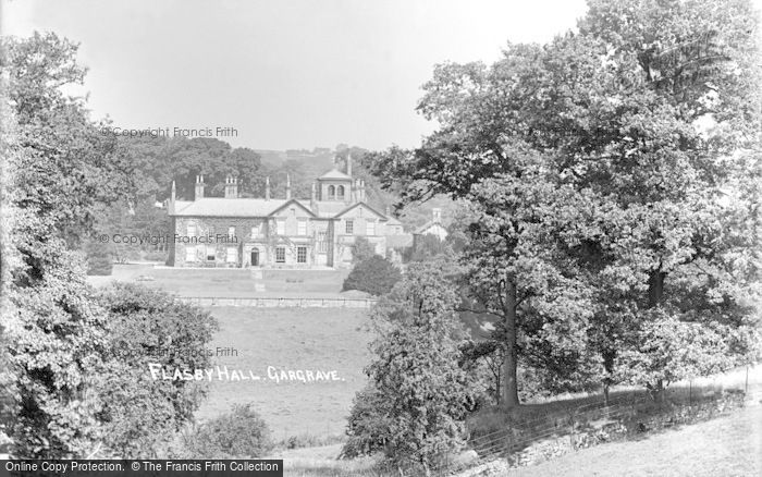 Photo of Gargrave, Flasby Hall c.1910