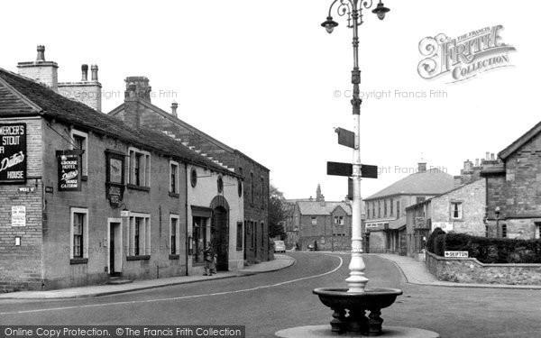Photo of Gargrave, High Street c1955
