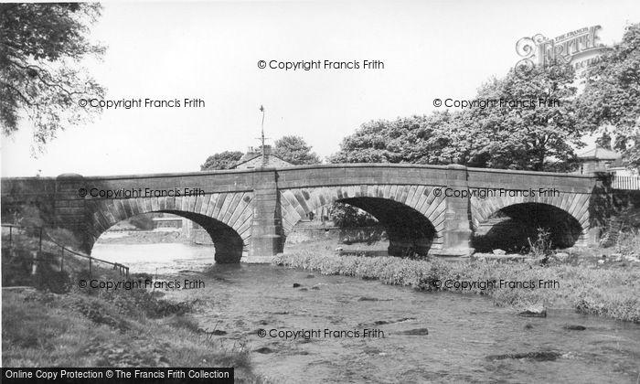 Photo of Gargrave, The Bridge c.1955