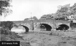 Gargrave, The Bridge c.1955