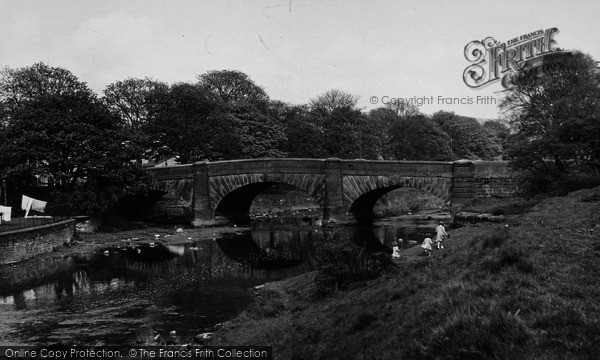 Photo of Gargrave, The Bridge c.1955