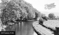 Gargrave, The Canal c.1955
