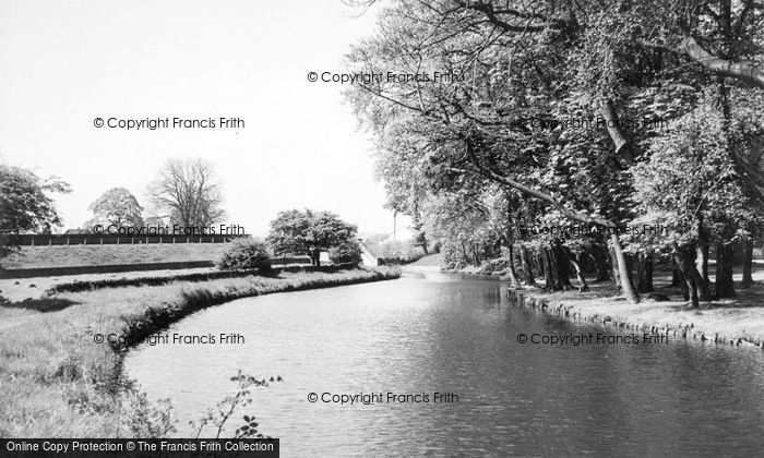 Photo of Gargrave, The Canal c.1955