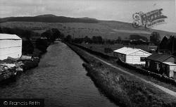 The Canal, Eshton Road c.1955, Gargrave