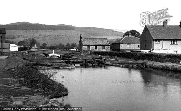 Photo of Gargrave, The Lock, Eshton Road c.1955