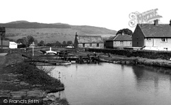 The Lock, Eshton Road c.1955, Gargrave