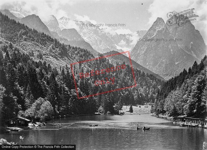 Photo of Garmisch Partenkirchen, Riessersee c.1935