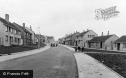Garndiffaith, New Housing Estate c.1955