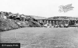 Garndiffaith, Sports Ground And Viaduct c.1955