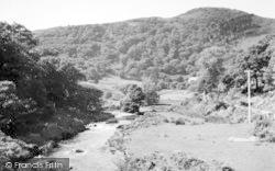 Garndolbenmaen, River Dwyfor At Cwm Pennant c.1955